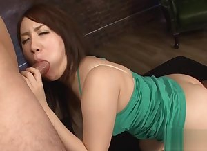 Blowjob foreigner Asian spoil thither upskirt