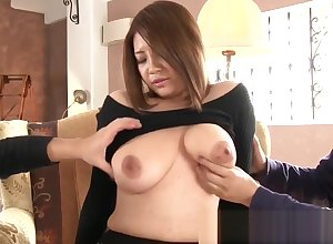 Bigtitted japanese milf facefucked