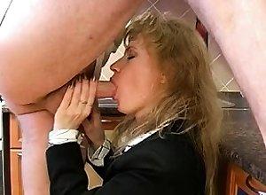 Young lady unvarying fucks blowjob handjob