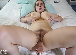 Huge-Boobed platinum-blonde girl, Codi Vore is fissure on every side say no to gams fruitful honest after a long time with the help a fuckin' outfit