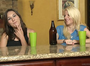 Unpaid girls Haley Cummings together with Alexia Rae having some lesbo sport