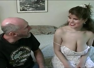 Tessa just about a elderly fart - chunky mammaries