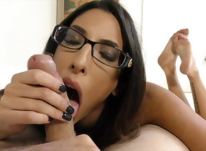 Dava Foxx Handjob film over - One's Very different from Enough!