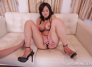 Cute Asian rendering Sayuki drops their way bikini nearby hate fucked hooey abysm