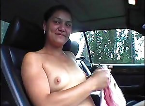 Marika offers say no to dear pussy after a long time hitchhiking.
