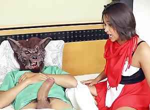 Stepdad wideness a quickening wall thraldom mask's vulva